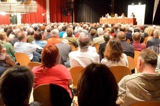 BZ-Podium zur OB-Wahl f�llt den B�rgersaal