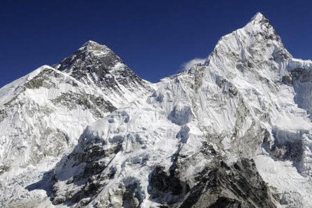 Richard Stihler auf dem Weg zum Mount Everest