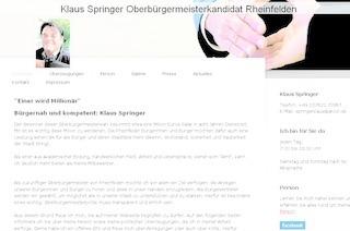 World Wide Wahlkampf: Die Rheinfelder OB-Kandidaten im Vergleich