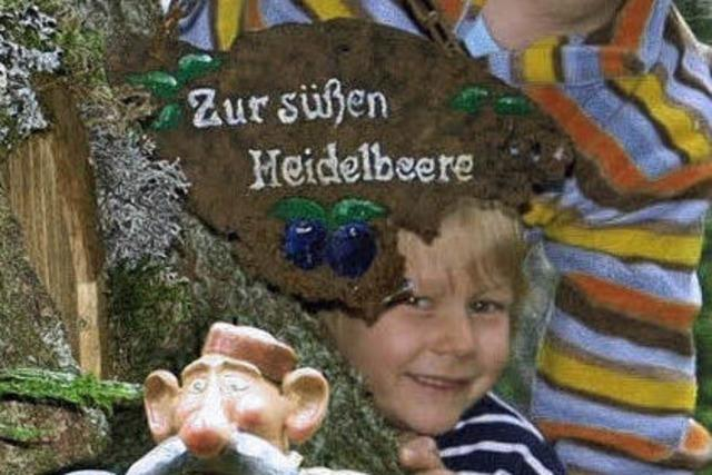 Wanderung auf dem Wichtelpfad: Wo ist Anton Auerhahn?