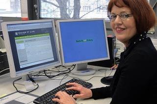 Cornelia Rösner findet Gefallen am Chat