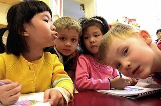 Bildung fängt ganz früh an
