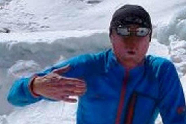Richard Stihler hat den Gipfel des Mount Everests erreicht
