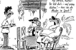 Leserfragen: Warum zahlen in Griedenland die Reichen keine Steuer?