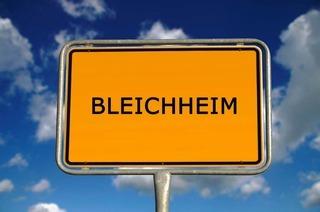 Warum heißt Bleichheim Bleichheim?