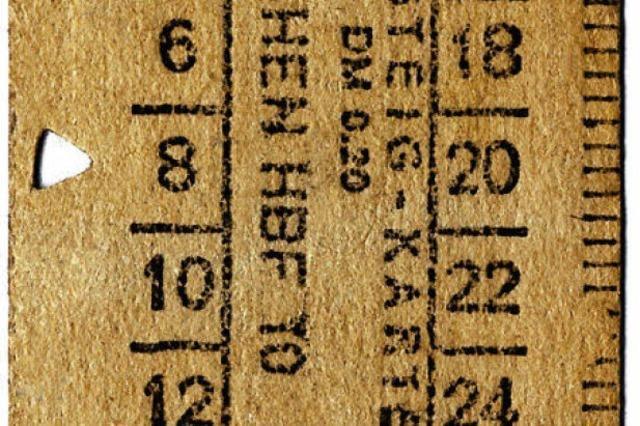 Das Billett des Sprachreinigers