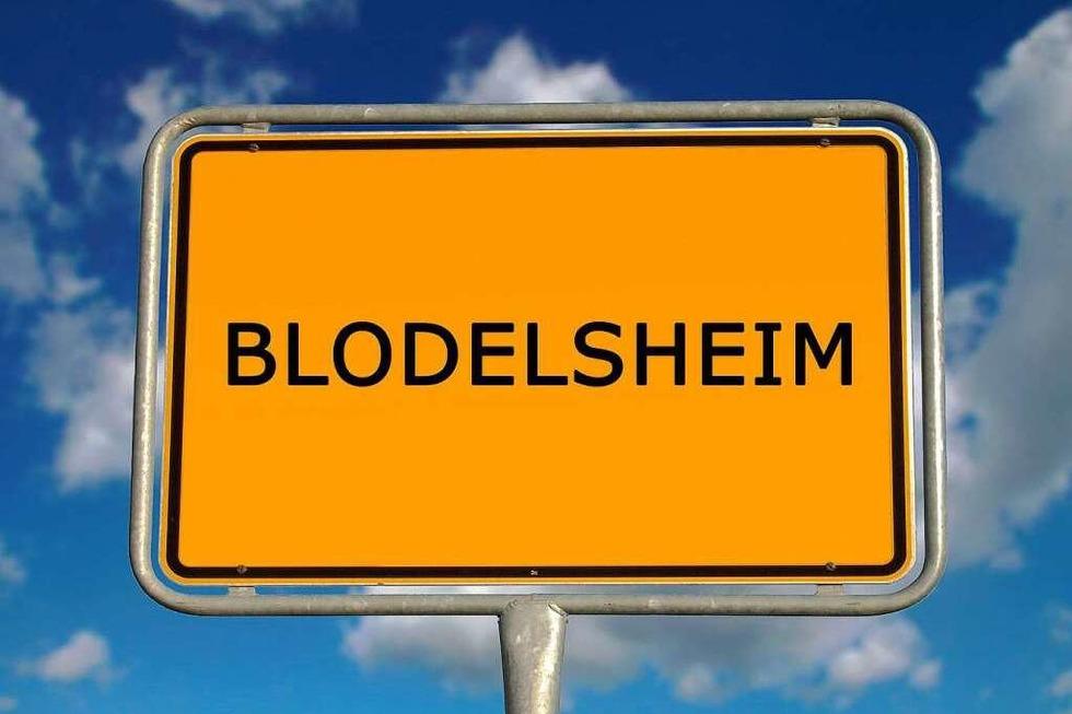 Warum heißt Blodelsheim Blodelsheim? - Badische Zeitung TICKET