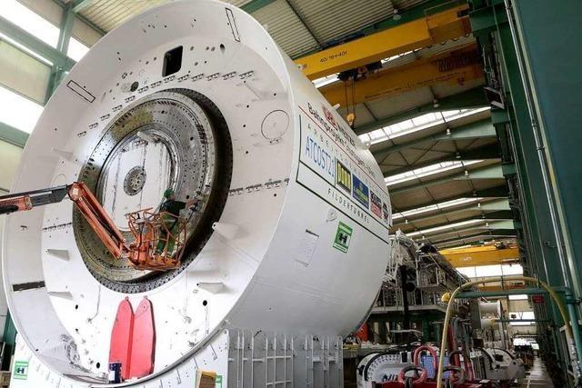 Herrenknecht hat eine Tunnelbohrmaschine für S21 fertig