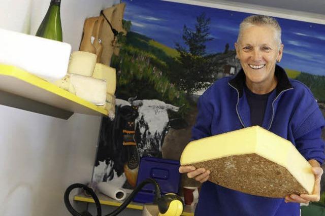Käse im Elsass und in Lothringen gereift