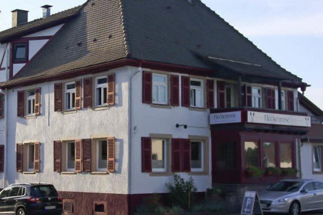 Heckenrose in Ringsheim: Der Dornröschenschlaf ist zu Ende