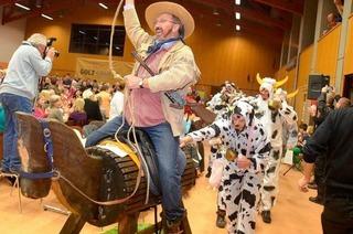 BZ-Ortswette in Steinen: Bürgermeister gewinnt als Rinderbaron