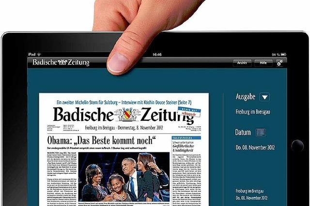 Die BZ gibt's jetzt auch auf dem iPad