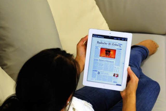 Zum BZ-Abo das günstige iPad