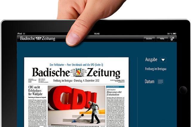 BZ startet ihre neuen Abos: Digitalpaket für jedes Gerät