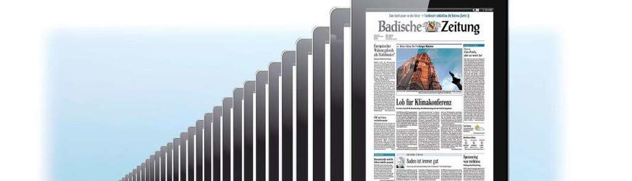 Willkommen in der digitalen Welt der Badischen Zeitung