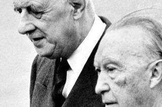 Ein fiktives Gespräch zwischen de Gaulle und Adenauer im Himmel