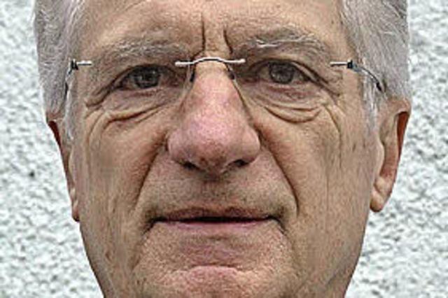 Altbürgermeister der Europastadt: Alfred Vonarb aus Breisach