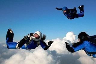Erfolgreich im freien Fall: die Hartheimer Fallschirmspringern Evangelina Warich
