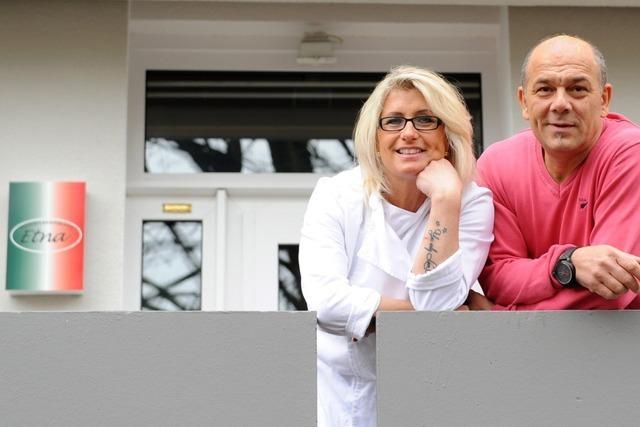 Die Pizzeria Etna in Zähringen bietet Gastlichkeit in einer Hochhaussiedlung