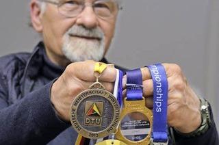 76-Jähriger aus Staufen nimmt zum zehnten Mal am Freiburg-Marathon teil