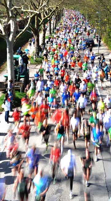 Marathon versetzt Freiburg in den Ausnahmezustand - Badische Zeitung TICKET