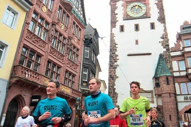 Der Freiburg-Marathon in 42-Sekunden-Videos
