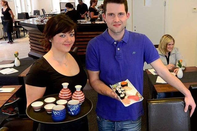 Café Lilac serviert japanische Tapas und Sushi