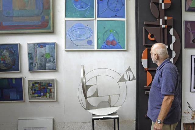 Peter Thomann verwandelt die Ateliers seiner Eltern Margret und Ernst Thomann in ein kleines Museum