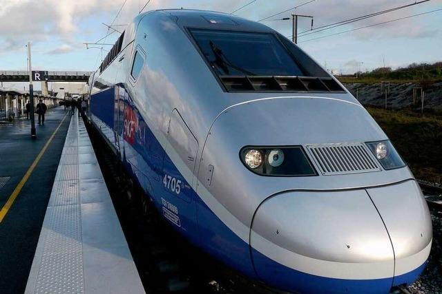 Für den TGV nach Paris gibt es noch keine Tickets