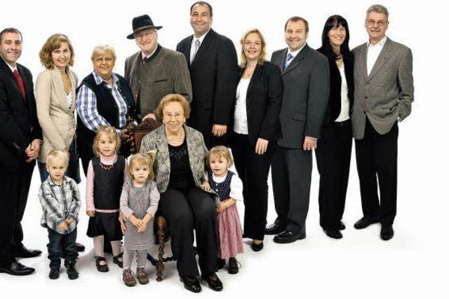 Die ganz sesshaft mobile Familie