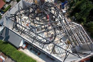 Europa-Park verbaut 190 Tonnen Stahl für neue Attraktion