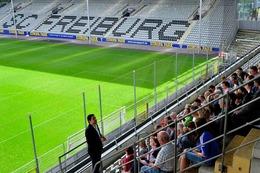 Fotos: BZ-Ferienaktion im SC-Stadion Freiburg