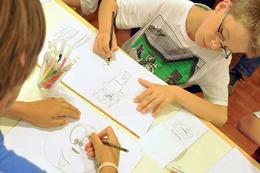 Fotos: BZ-Ferienaktion Zeichnen im F�chsleclub