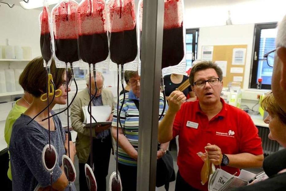 Fotos: BZ-Ferienaktion 2013 – ein Besuch bei der Blutspendezentrale