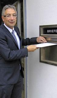 Dieter Köpfler ist erster Bewerber - Badische Zeitung TICKET