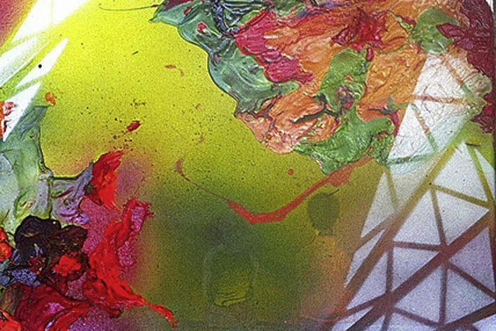 Abstrakte Elemente überlagern das Motiv - Badische Zeitung TICKET