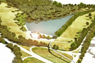Der See für die Landesgartenschau in Lahr wird viel teurer