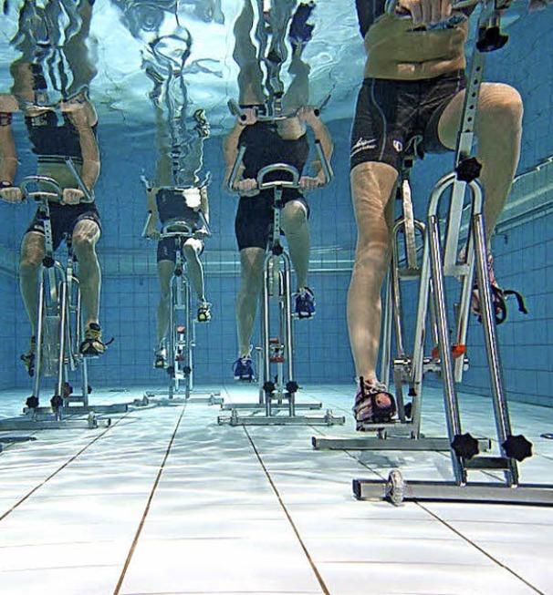 abnehmen mit aqua cycling