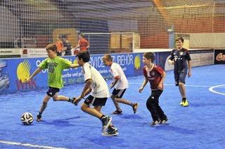 Fußballcenter in Umkirch: Kicken auf Kunstrasen
