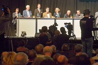 Stadiondebatte: Moderatorin bedauert Populismus bei Bürgerinitiativen
