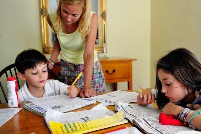 Wie sehr dominiert die Schule das Familienleben?