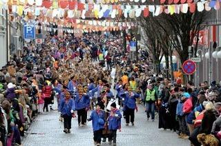 Ortenauer Narrentage: 7000 Teilnehmer feiern in Lahr