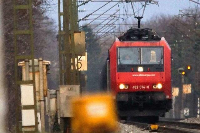 Ausbau der Rheintalbahn: Verstimmung nach Gutachten