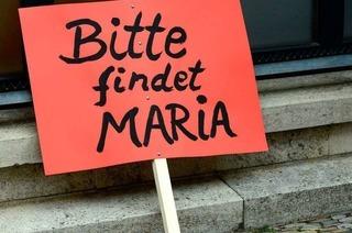 Fall Maria: Seit einem Jahr ist die Schülerin verschwunden