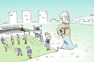 Streit um Landesgartenschaugelände trifft vor allem Sportler