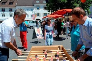OB-Kandidaten in Lörrach: Wo liegen die Unterschiede?