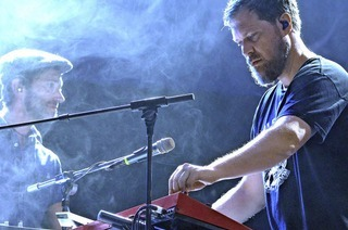 Songwriter John Grant im Lörracher Rosenfelspark