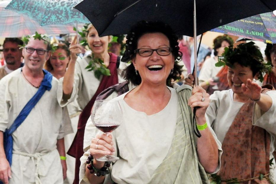 Fotos: Der Festumzug zur 950-Jahr Feier von Oberweier