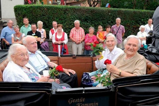 Gelungene Feier zum 950-Jährigen in Oberweier