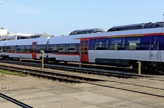 Wie laut werden die E-Triebz�ge der Kaiserstuhlbahn?